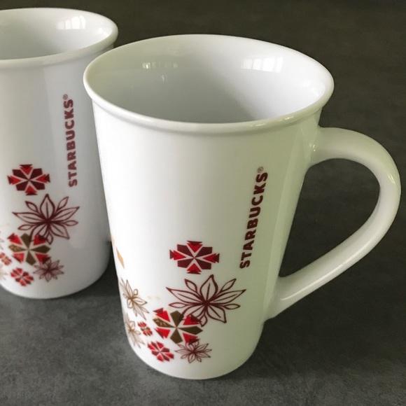Starbucks Set of Two 12 oz Art Deco 2014 Mug